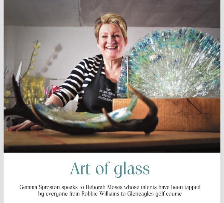Deborah Moses, art of glass