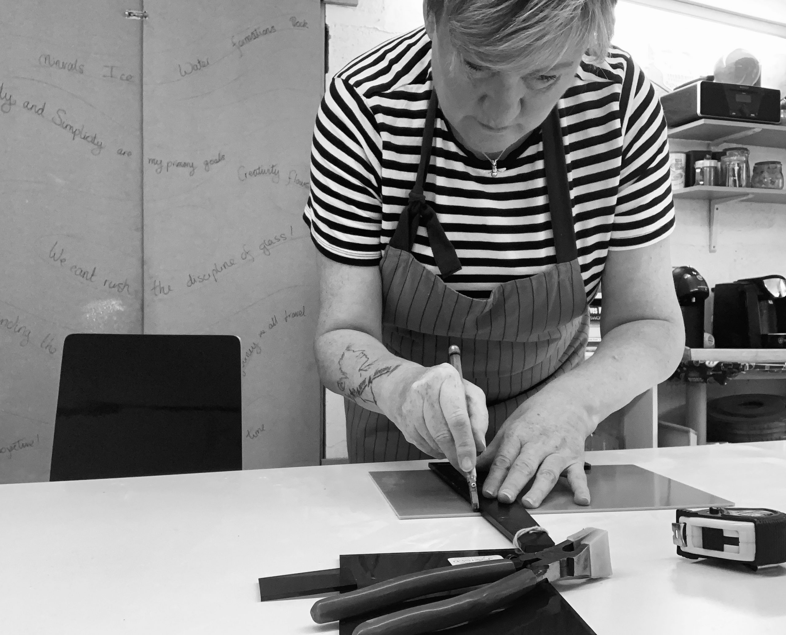 Deborah Moses - Fused Glass Artist at The Zebra Studio Company